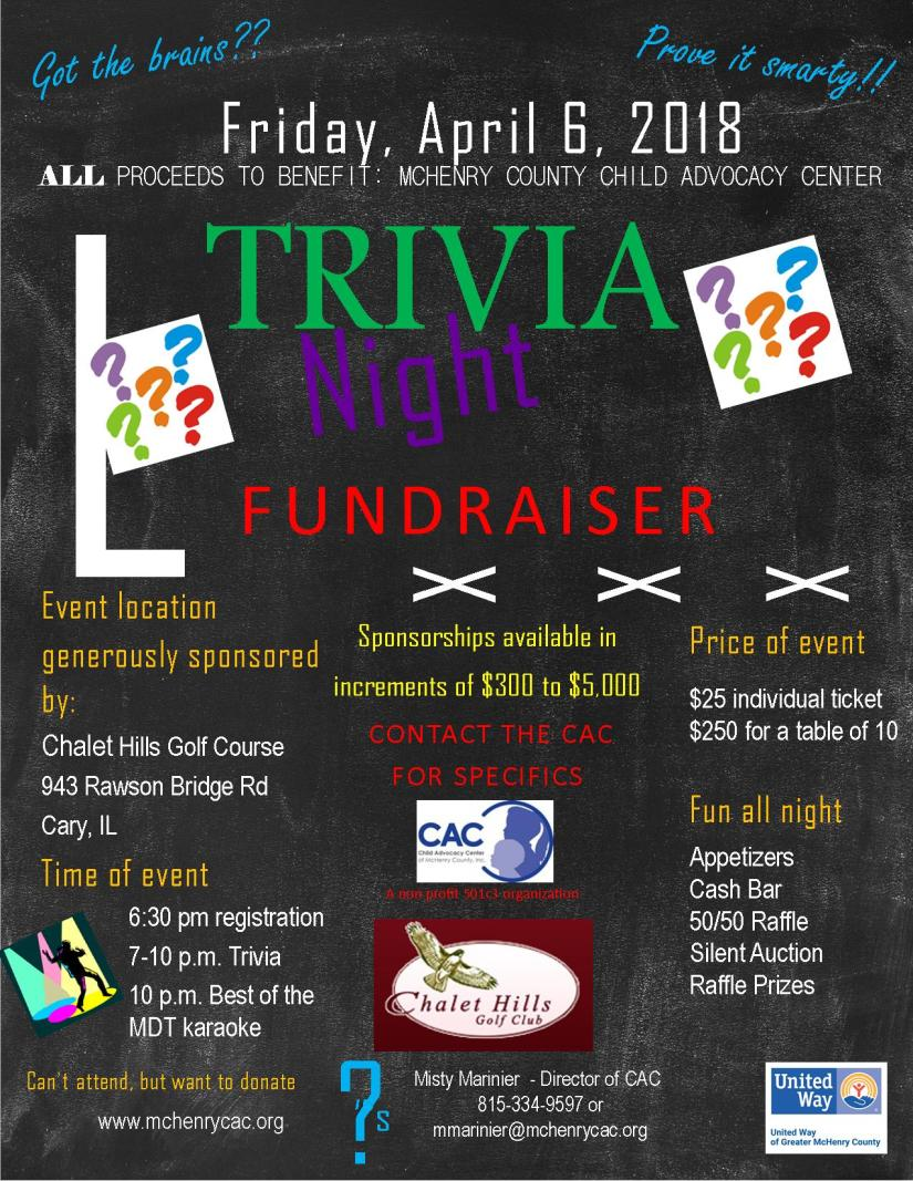 Trivia night-Flyer